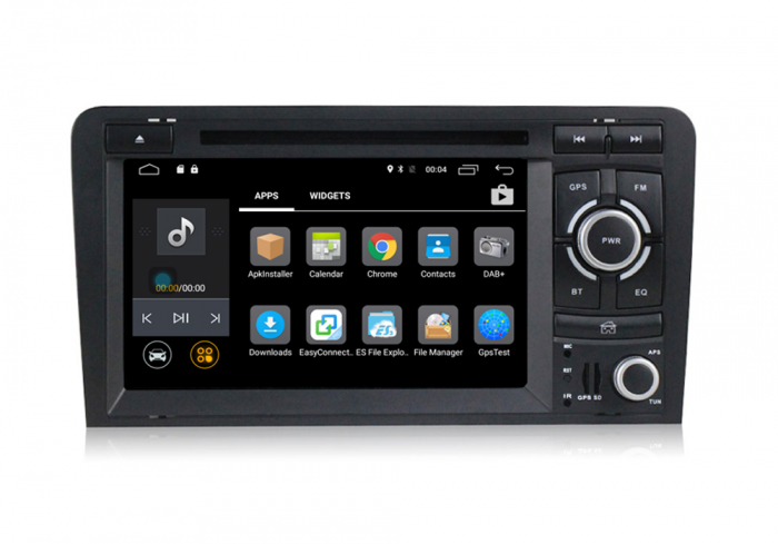 Navigatie auto dedicata Audi A3/S3 (2003-2013) 2 GB RAM, 32 ROM ,Android 10, 7 inch, 2/16GB DSP 1
