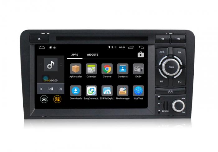 Navigatie auto dedicata Audi A3/S3 (2003-2013) 2 GB RAM, 32 ROM ,Android 10, 7 inch, 2/16GB DSP [1]