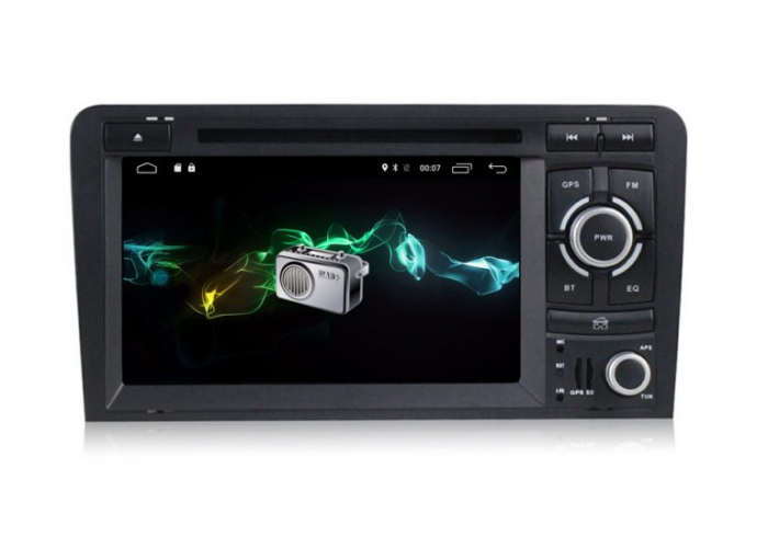 Navigatie auto dedicata Audi A3/S3 (2003-2013) 2 GB RAM, 32 ROM ,Android 10, 7 inch, 2/16GB DSP 3