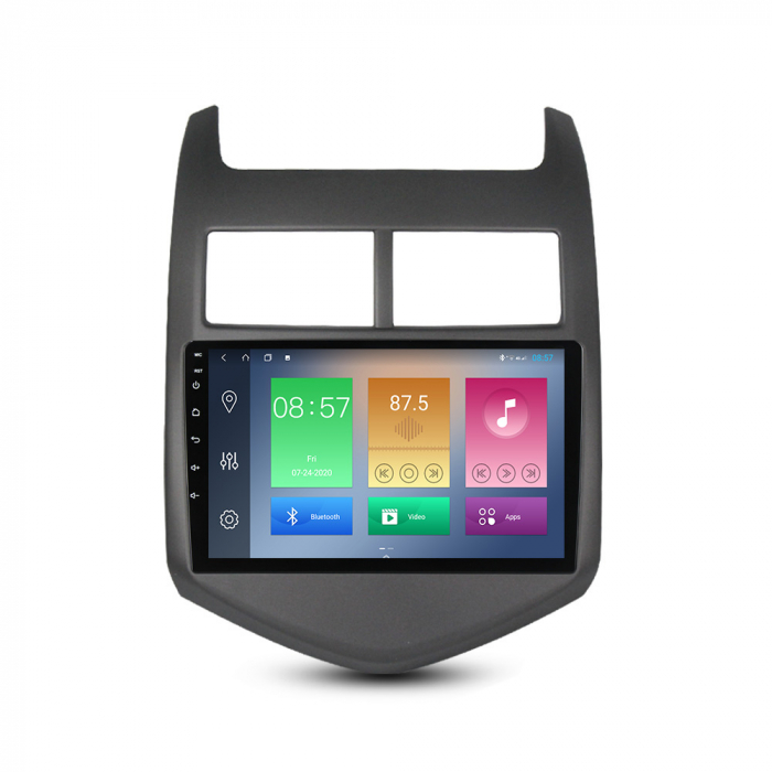 Navigatie Chevrolet Aveo 2010-2015, NAVI-IT, 9 Inch, 4GB RAM 64GB ROM, IPS, DSP, RDS, 4G, Android 10 , WiFi, Bluetooth, Magazin Play, Camera Marsarier [0]