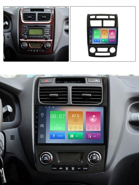 Navigatie Kia Sportage 2004-2010, NAVI-IT, 9 Inch, 1GB RAM 16GB ROM, Android 9.1, WiFi, Bluetooth, Magazin Play, Camera Marsarier [7]