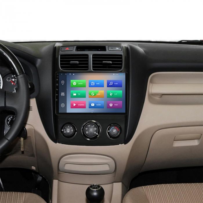 Navigatie Kia Sportage 2004-2010, NAVI-IT, 9 Inch, 1GB RAM 16GB ROM, Android 9.1, WiFi, Bluetooth, Magazin Play, Camera Marsarier [5]