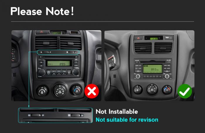 Navigatie Kia Sportage 2004-2010, NAVI-IT, 9 Inch, 1GB RAM 16GB ROM, Android 9.1, WiFi, Bluetooth, Magazin Play, Camera Marsarier [1]