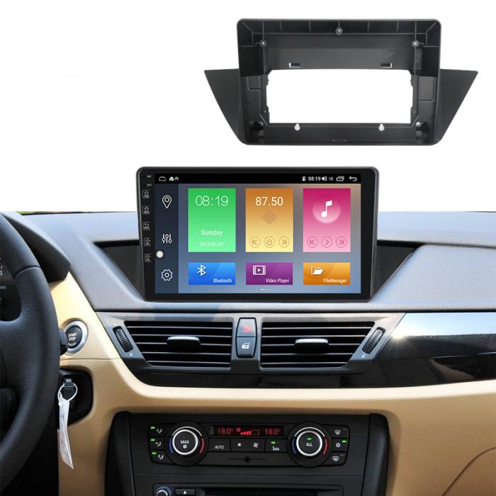 Navigatie NAVI-IT 1GB RAM + 16GB ROM Android BMW X1 E84 (2009 - 2015 ) , Display 10 inch , Internet , Aplicatii , Waze , Wi Fi , Usb , Bluetooth , Mirrorlink [4]