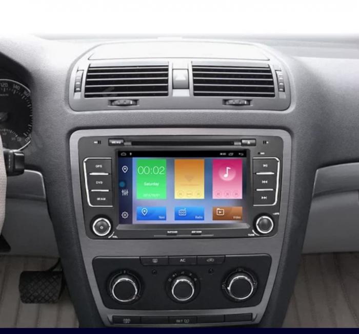 Navigatie NAVI-IT, 2GB RAM 16GB ROM, Skoda Octavia 2, Display 7 Inch, Android 10, IPS, DSP, RDS, WiFi, Bluetooth, Magazin Play 0