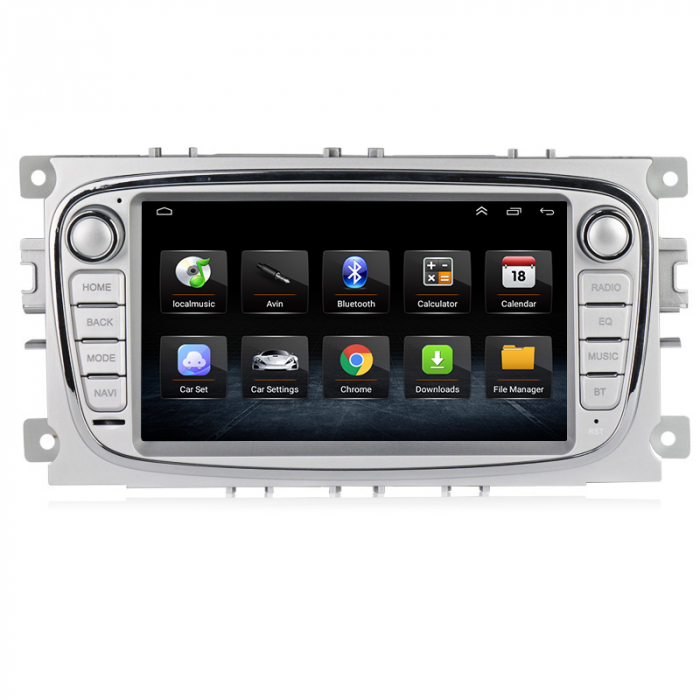 Navigatie NAVI-IT 2GB RAM + 32 GB ROM Gps Android Ford Mondeo Focus S Max Transit Tourneo, Interne ,Aplicatii , Waze , Wi Fi , Usb , Bluetooth , Mirrorlink 2