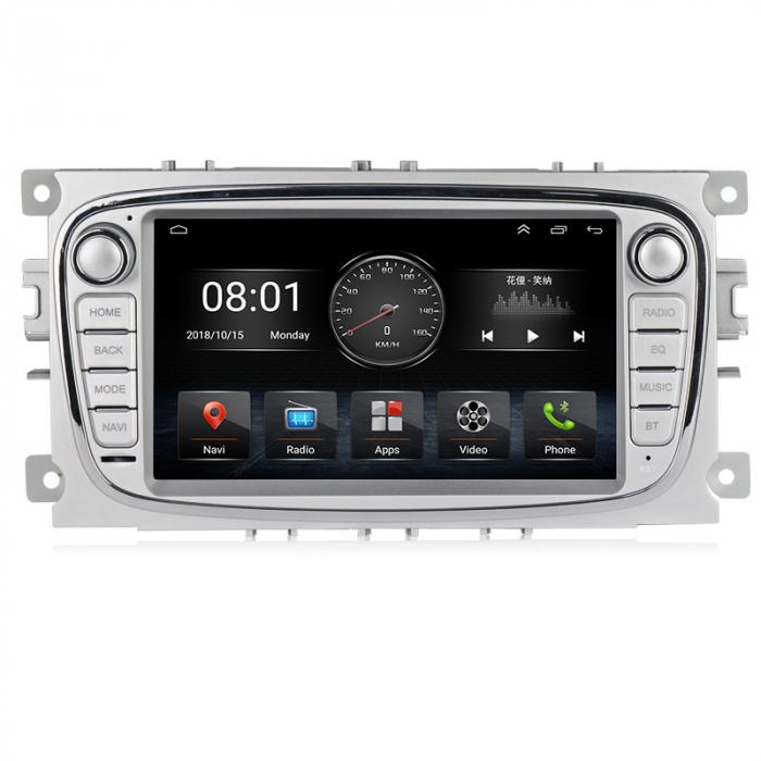 Navigatie NAVI-IT 4 GB RAM + 64 GB ROM Gps Android Ford Mondeo Focus S Max Transit Tourneo, Interne ,Aplicatii , Waze , Wi Fi , Usb , Bluetooth , Mirrorlink 0