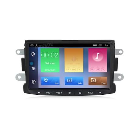 Navigatie NAVI-IT, 4GB RAM 64GB ROM, 4G, IPS, DSP, Android 10, Sistem navigatie pentru Dacia Logan 2, Sandero, Duster, Renault Captur, Touch Screen Bluetooth RDS - Copie - Copie [0]
