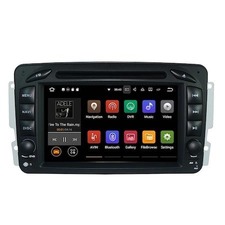 Navigatie NAVI-IT 4GB RAM + 64GB ROM, 4G, IPS, DSP Gps Mercedes C Class W203 Vaneo Vito Viano , Android 9.1 , Internet ,Aplicatii , Waze , Wi Fi , Usb , Bluetooth , Mirrorlink - Copie - Copie 2