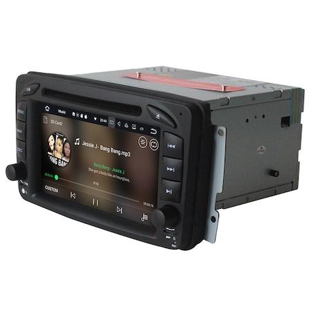 Navigatie NAVI-IT 4GB RAM + 64GB ROM, 4G, IPS, DSP Gps Mercedes C Class W203 Vaneo Vito Viano , Android 9.1 , Internet ,Aplicatii , Waze , Wi Fi , Usb , Bluetooth , Mirrorlink - Copie - Copie 1