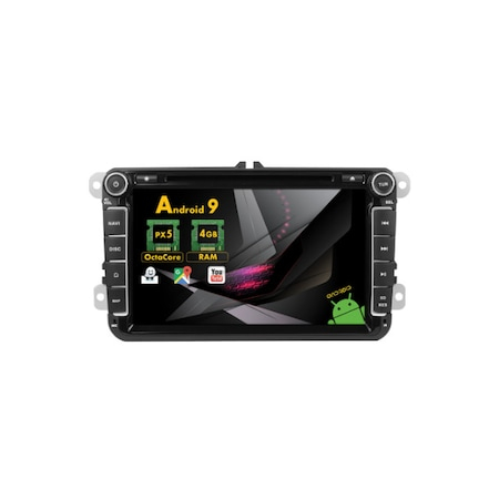 Navigatie NAVI-IT, 4GB RAM 64GB ROM, 4G, IPS, DSP, Volkswagen Android 10, Display 8 inch, WiFi, Bluetooth, GPS,DSP,RDS - Copie - Copie 1
