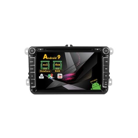 Navigatie NAVI-IT, 4GB RAM 64GB ROM, 4G, IPS, DSP, Volkswagen Android 10, Display 8 inch, WiFi, Bluetooth, GPS,DSP,RDS - Copie - Copie 0