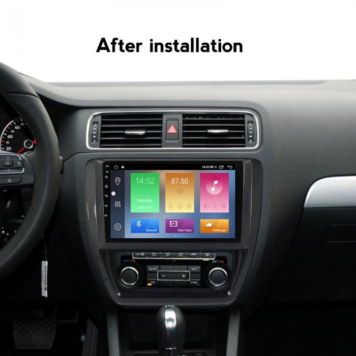 Navigatie Volkswagen Sagitar, Jetta 2012-2015, NAVI-IT, 9 Inch, 1GB RAM 16 GB ROM, Android 9,1, WiFi, Bluetooth, Magazin Play, Camera Marsarier [4]