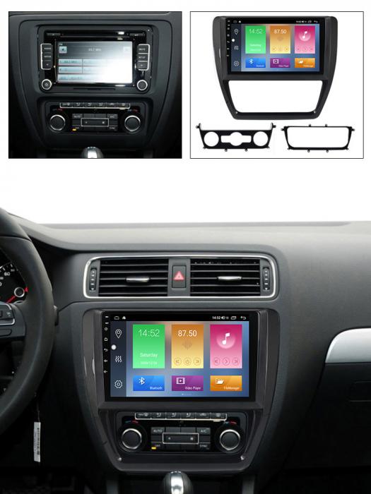 Navigatie Volkswagen Sagitar, Jetta 2012-2015, NAVI-IT, 9 Inch, 1GB RAM 16 GB ROM, Android 9,1, WiFi, Bluetooth, Magazin Play, Camera Marsarier [5]