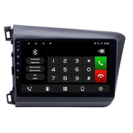 Navigatie NAVI-IT 1GB RAM 16GB ROM, Android Honda Civic ( 2011 - 2015 ) , Display 9 inch, Internet ,Aplicatii , Waze , Wi Fi , Usb , Bluetooth , Mirrorlink 2