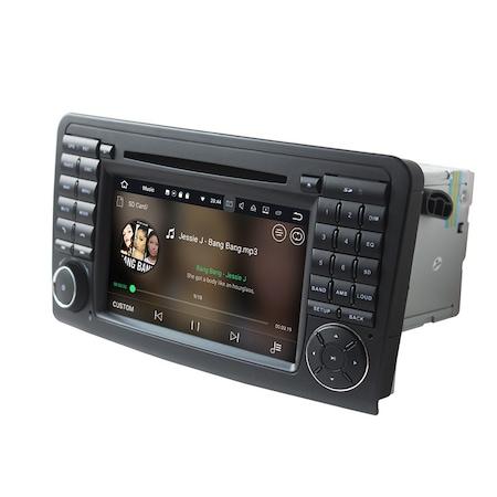 Navigatie NAVI-IT 1GB RAM + 16GB ROM , Gps Mercedes ML W164 , GL X164 ( 2005 - 2012) , Android 9.1 Internet ,Aplicatii , Waze , Wi Fi , Usb , Bluetooth , Mirrorlink [1]