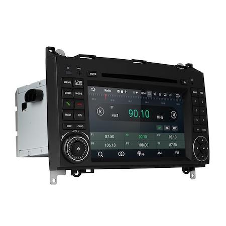 Navigatie NAVI-IT 2GB RAM + 16GB ROM Gps Mercedes Vito Sprinter Viano B200 A B Class VW Crafter , Android 10, Internet, Aplicatii , Waze , Wi Fi , Usb , Bluetooth , Mirrorlink [0]