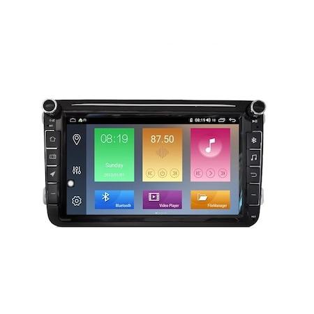 Navigatie NAVI-IT Gps 8 inch VW Golf 5 6 Passat B6 B7 CC Tiguan Touran Jetta Eos Polo Sharan Amarok Caddy , Android , 1 GB RAM + 16 GB ROM , Internet , Aplicatii , Waze , Wi Fi , Usb , Bluetooth , Mir 0