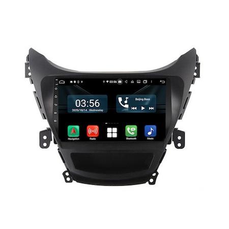 Navigatie NAVI-IT, 4GB RAM 64GB ROM, 4G, IPS, DSP, dedicata cu Android 9.1 pentru Hyundai Elantra 2011-2013, WiFi, Bluetooth, Magazin Play - Copie - Copie 0