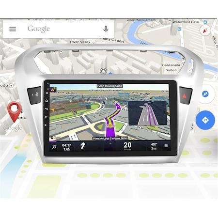 """Navigatie NAVI-IT, 1GB RAM 16GB ROM, Gps Peugeot 301 / Citroen C-Elysee ( 2012 + ) , Android ,Display 10.1 """" , Internet , Aplicatii , Waze , Wi Fi , Usb , Bluetooth , Mirrorlink [1]"""