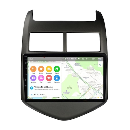 Navigatie NAVI-IT, 4GB RAM 64GB ROM, 4G, IPS, DSP, Android Chevrolet Cruze Aveo ( 2008 - 2015 ) , Display 9 inch ,Internet , Aplicatii , Waze , Wi Fi , Usb , Bluetooth , Mirrorlink 1