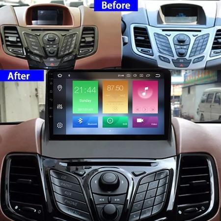 """Navigatie NAVI-IT  1 GB RAM + 16 GB ROM , Gps Ford Fiesta ( 2009 - 2017 ) , Android , Display 9 """" , Internet, Aplicatii , Waze , Wi Fi , Usb , Bluetooth , Mirrorlink [1]"""