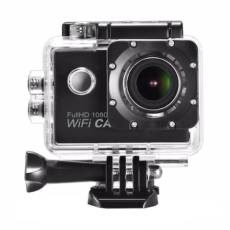 Camera Video Actiune Sport 4K, Ecran 2'' LCD, Waterproof, telecomanda pentru actiune de la distanta 0