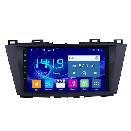 Navigatie NAVI-IT, 4GB RAM 64GB ROM, 4G, IPS, DSP, Mazda 5 ( 2010 - 2017 ) , Android , Display 9 inch, Internet , Aplicatii , Waze , Wi Fi , Usb , Bluetooth , Mirrorlink 0