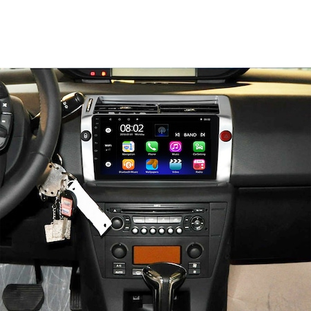 Navigatie NAVI-IT, 1GB RAM, 16GB ROM, Citroen C4 2005-2011, Android 9.1, 9 Inch, WiFi, Bluetooth, Waze 1
