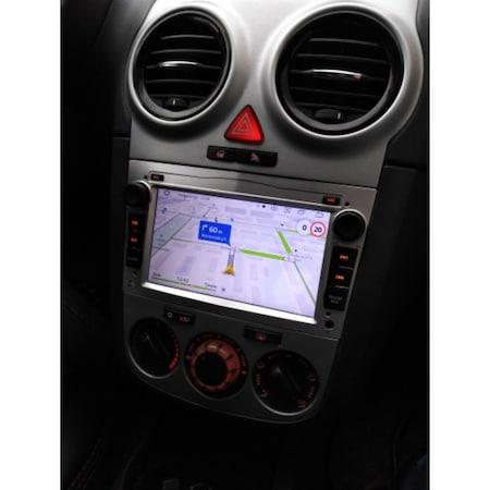 "Navigatie NAVI-IT, 1GB RAM 16GB ROM,  Android 9.1 GPS Pentru Opel Antara, Astra H, Corsa, Meriva, Vectra, Vivaro, Zafira B, Procesor Quad-Core, Display 7"" Full-Touch 3"