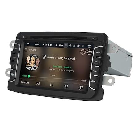 Navigatie NAVI-IT, 2GB RAM 16GB ROM, Gps Dacia Logan Duster Sandero Logdy Dokker Renault , Android 10 , Internet , Aplicatii , Waze , Wi Fi , Usb , Bluetooth , Mirrorlink 1