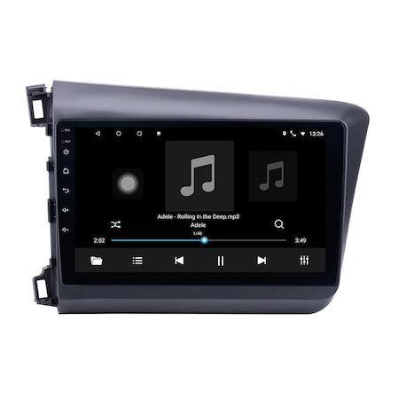 Navigatie NAVI-IT 4GB RAM 64GB ROM, 4G, IPS, DSP, Android Honda Civic ( 2011 - 2015 ) , Display 9 inch, Internet ,Aplicatii , Waze , Wi Fi , Usb , Bluetooth , Mirrorlink - Copie - Copie 0