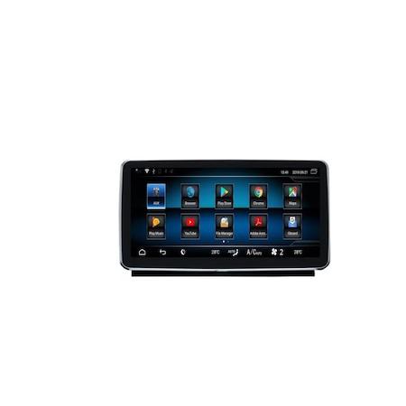 Navigatie Android NAVI-IT, 1GB RAM + 16GB ROM , Mercedes ML GL W166 ( 2012 - 2015) , NTG 4.5 , Procesor Quad Core, Internet , Aplicatii , Waze , Wi Fi , Usb , Bluetooth , Mirrorlink 1