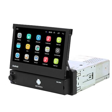 Navigatie NAVI-IT, 1B RAM 16GB ROM, Auto 1DIN Retractabil Manual, Display 7 Inch, Android 9 [0]