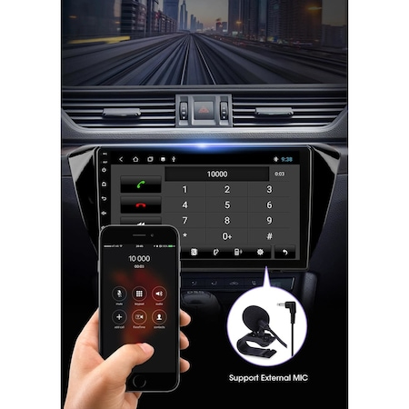 "Navigatie NAVI-IT 1GB RAM + 16GB ROM , Gps Skoda Superb 3 ( 2015 - 2019 ) , Android , Display 10.1 "" , Internet , Aplicatii , Waze , Wi Fi , Usb , Bluetooth , Mirrorlink 1"