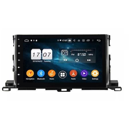 Navigatie NAVI-IT, 1GB RAM 16GB ROM, Toyota Highlander ( 2014 - 2018 ), Carplay , Android , Aplicatii , Usb , Wi Fi , Bluetooth 1
