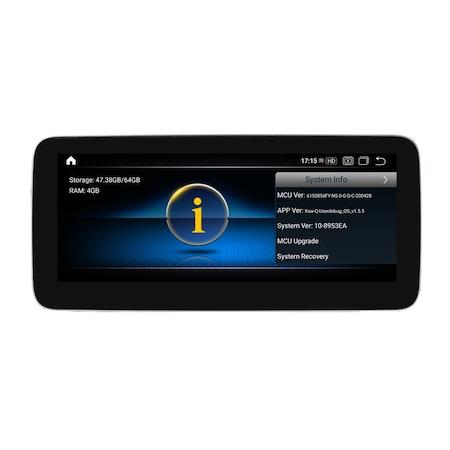Navigatie NAVI-IT, 1GB RAM 16 GB ROM, Android9.1 Mercedes Benz A GLA CLA G Class NTG 5.0 [1]