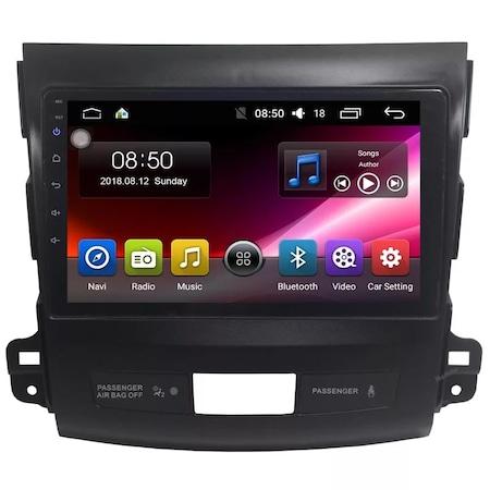 Navigatie NAVI-IT, 1GB RAM 16GB ROM, Peugeot 4007 ( 2007 - 2012 ) , Android , Display 9 inch ,Internet ,Aplicatii , Waze , Wi Fi , Usb , Bluetooth , Mirrorlink 2