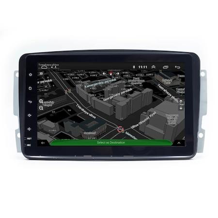 Navigatie NAVI-IT 4GB RAM 64GB ROM, 4G, IPS, DSP Mercedes C-class w203,E-class w210,Vaneo,Viano,Vito,A-class w168,G-class w463 ,M-class /ML W163 ,Wi-Fi, Android 10,Bluetooth - Copie - Copie 2