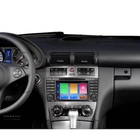 Navigatie NAVI-IT, 2GB RAM 32GB ROM Android 9.1 dedicata Mercedes C-Class, CLC (W203), G-Class (W467) cu DVD + Cadou Card GPS 16 Gb - Copie 2