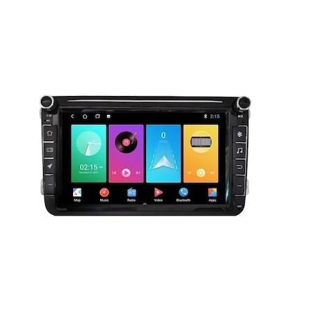 Navigatie NAVI-IT Gps 8 inch VW Golf 5 6 Passat B6 B7 CC Tiguan Touran Jetta Eos Polo Sharan Amarok Caddy , Android , 1 GB RAM + 16 GB ROM , Internet , Aplicatii , Waze , Wi Fi , Usb , Bluetooth , Mir 1