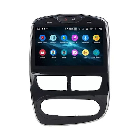 Navigatie NAVI-IT, 1GB RAM 16GB ROM, Renault Clio 4 ( 2015 + ) , Android , Display 10 inch , Internet ,Aplicatii , Waze , Wi Fi , Usb , Bluetooth , Mirrorlink 0