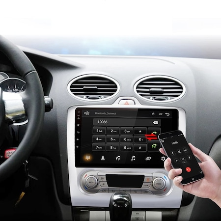 Navigatie NAVI-IT Ford Focus ( 2004 - 2011 ) , 1 GB RAM + 16 GB ROM , Carplay , Android , Aplicatii , Usb , Wi Fi , Bluetooth [1]