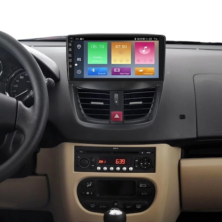 Navigatie NAVI-IT, 2GB RAM 32GB ROM, Peugeot 207 ( 2006 - 2015 ) , Android , Display 9 inch, Internet ,Aplicatii , Waze , Wi Fi , Usb , Bluetooth , Mirrorlink - Copie 1