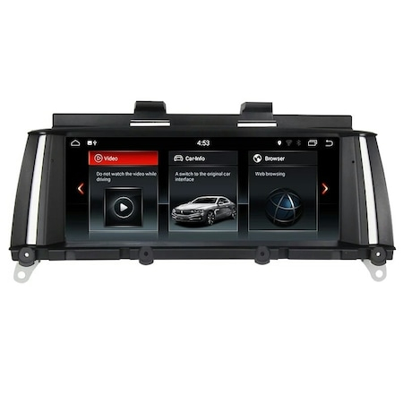 "Navigatie NAVI-IT, 2 GB RAM 32 GB ROM Gps BMW X3 F25 , X4 F26 ( 2013 - 2018 ) pentru NBT , Android 10 ,Waze , Youtube , Wi-Fi, Bluetooth, Quad-Core 1.6 GHz , 8.8"", IPS Touchscreen 0"
