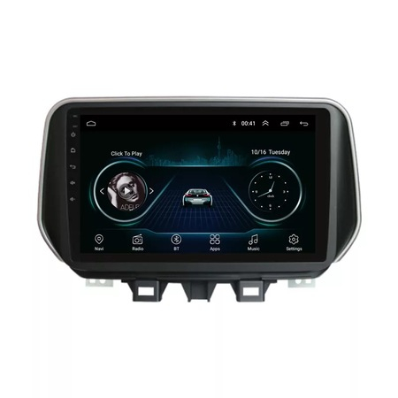 Navigatie NAVI-IT, 1GB RAM 16GB ROM, Hyundai Tucson IX 35 ( 2019 + ) , Android , Display 9 inch , Internet ,Aplicatii , Waze , Wi Fi , Usb , Bluetooth , Mirrorlink 2