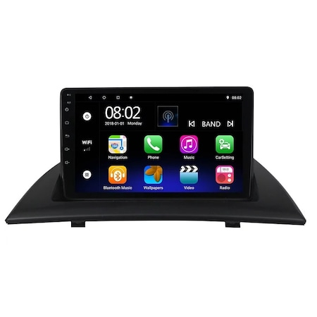 Navigatie NAVI-IT 1GB RAM + 16 GB ROM BMW X3 E83 ( 2004 - 2012 ) , Android , Display 9 inch , Internet , Aplicatii , Waze , Wi Fi , Usb , Bluetooth , Mirrorlink 1