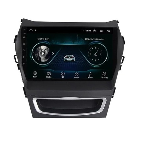 Navigatie NAVI-IT, 2GB RAM 32GB ROM, Hyundai Santa Fe ix 45 ( 2012 - 2017 ) , Android , Display 9 inch, Internet, Aplicatii , Waze , Wi Fi , Usb , Bluetooth , Mirrorlink - Copie 0