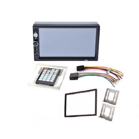 Navigatie MirrorLink mp5 player auto 7010B, Rama,Suporti prindere, Bluetooth, Divix , AVI , USB , SD Card , AUX 0