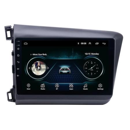 Navigatie NAVI-IT 1GB RAM 16GB ROM, Android Honda Civic ( 2011 - 2015 ) , Display 9 inch, Internet ,Aplicatii , Waze , Wi Fi , Usb , Bluetooth , Mirrorlink 3